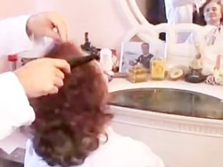 find out why granny can getting her hair done