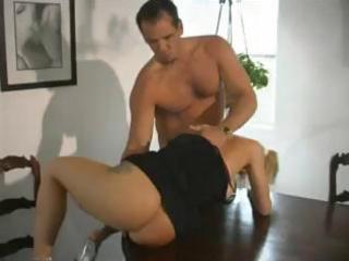 breasty blond d like to fuck eats his rod and