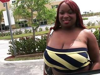 large breasted ebony milf rides a hard pulsating