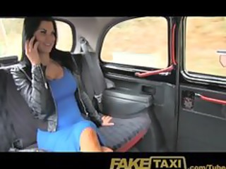 faketaxi exotic stunner in office break taxi