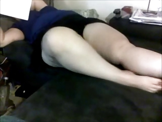 big beautiful woman wife teasing upskirt