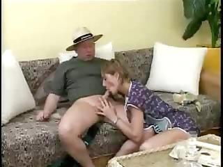 german housefrau bonks the gardener