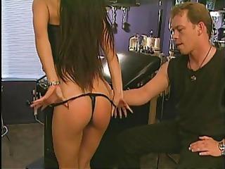 guy smacks her on her sweet ass