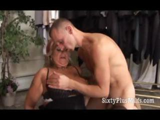 granny in hawt underware drilled