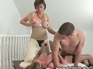mature femdom fetish fuck trio