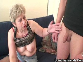 she warms up her old bawdy cleft previous to two