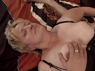 blond granny fisted and fucked