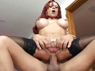 breasty redheaded mother i fucking in darksome