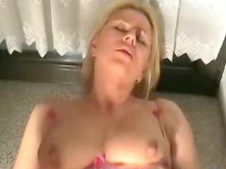 german blond anal creampie