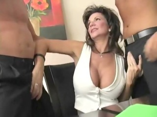 aged divorced housewife - dp anal squirting