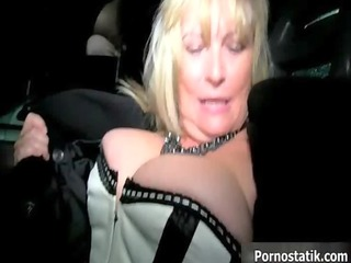 horny older mom in hot underware goes