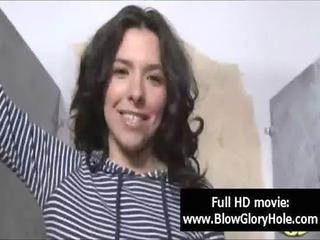 gloryhole - sexy breasty chicks love engulfing