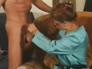 naughty brunette hair mature french bitch munches