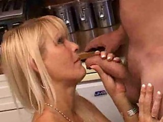 blonde mother i doxy receives a doggy style fuck