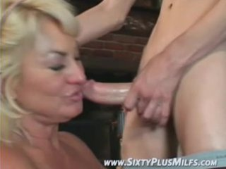 fine blonde grandma mad to fuck