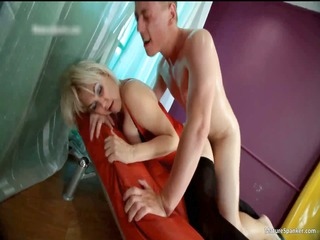 wicked blond hoe acquires spanked part11