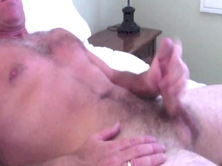 jerking off and cumming for the wife