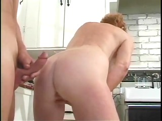 classic granny diane richards group-fucked in