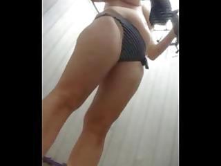 hidden webcam in beach cabin