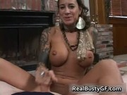 round bigtits tattooed mamma fireplace