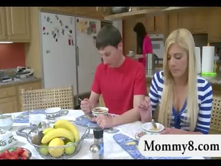 stepmom teaches legal age teenager how to fuck