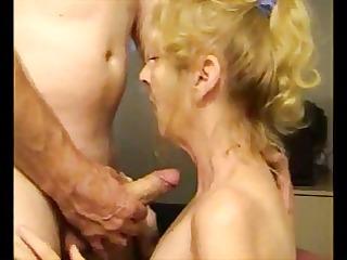 granny hawt suck dong and cum