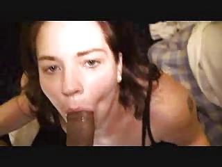 wife deepthroating large darksome ramrod