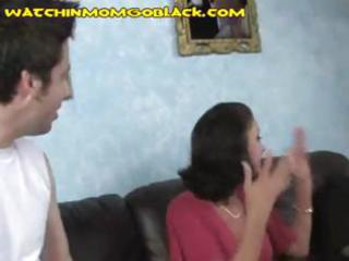 breasty brunette mother i pays her sons debt by