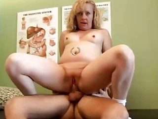 hawt blond d like to fuck heidi enjoys a facial