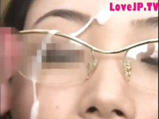 japanese mother i in glasses group-fucked and