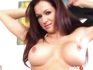 pornstar milf stacy silver wants to cum with her