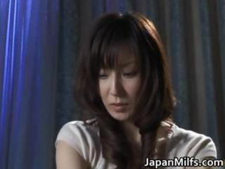 extremely concupiscent japanese milfs sucking