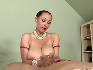 oil tugjob by superhot english d like to fuck