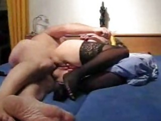 mature amateur wife toys her a-hole and gets