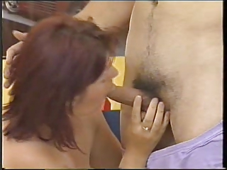 hot aged 106 mother tempt youg guy for fist sex