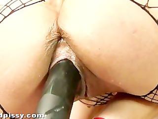 peeing girl looks amazing squirting void urine