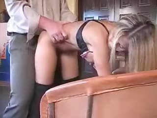 hot dilettante wife playing with pounder