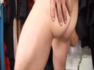 breasty golden-haired granny helps a dude in the