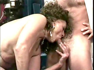 curly older permeated by her spouse