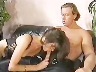 british chick teaches german man trio hospitality