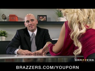 cheating big tit blond wife copulates salesmans