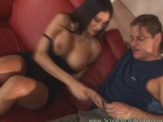 breasty hot wife drilled hard by a pornstar and