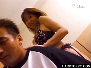 asian floozy licking bodies in fuckfest