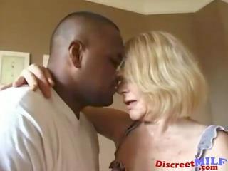 dirty grandma receives ghetto dark cock