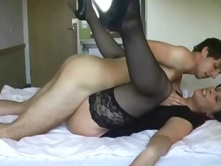sexy mother i in nylons screwed by younger boy