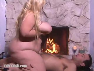 bbw cassie blanca takes a creampie ass, big