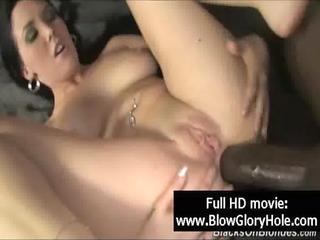 gloryhole - sexy breasty honeys love sucking dick