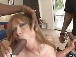 interracial mother i double penetration anal