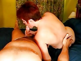 mature couple awesome creampie!