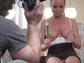 silvia saint solo masturbate #2